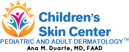 Children's Skin Center is pleased to present our newly redesigned website with a blog